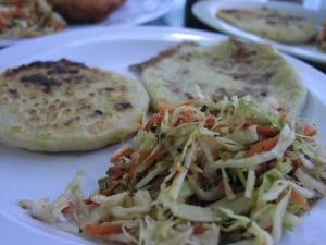 Pork and Bean&Cheese Pupusas